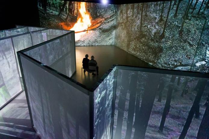Het kunstwerk The Fish Pond Song van Jeroen Kooijmans trekt een record aantal bezoekers naar het Stedelijk Museum.