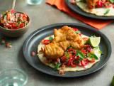 Wat Eten We Vandaag: Vistaco's met salsa picada