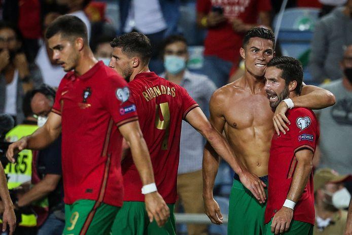 Ronaldo en Moutinho.