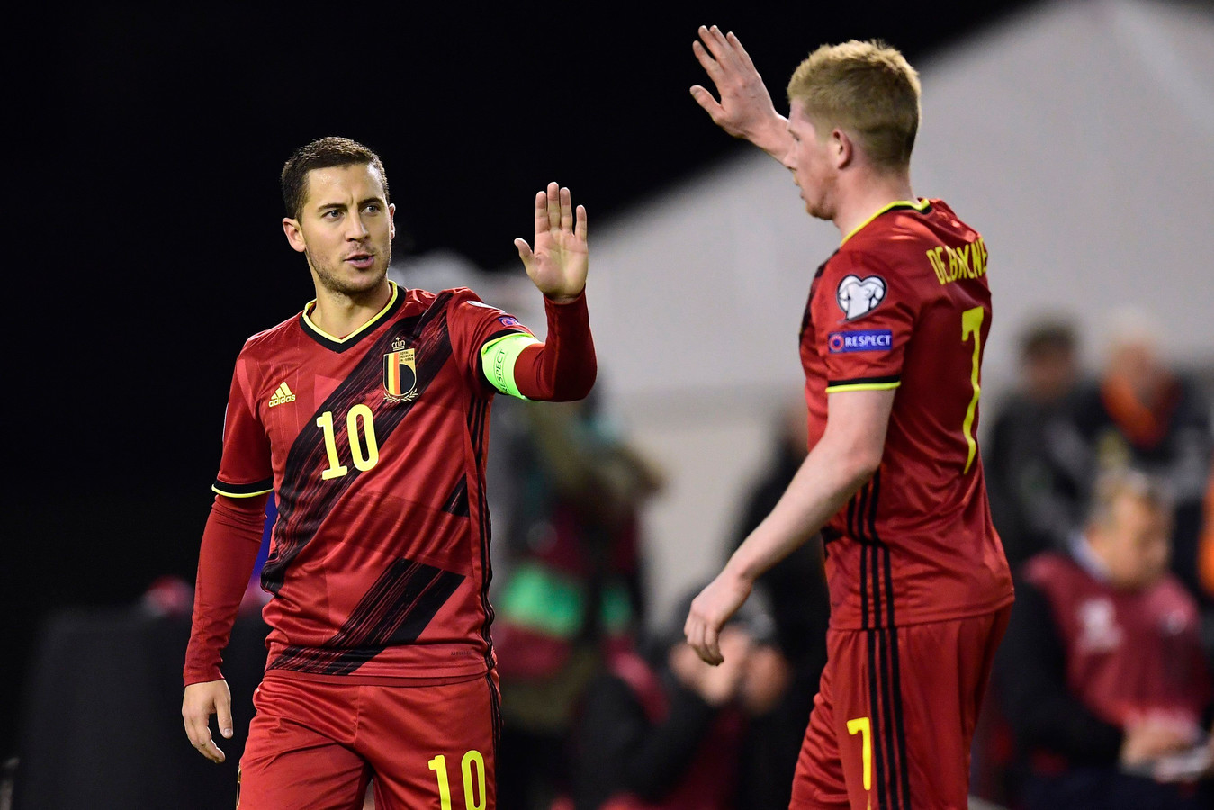 Eden Hazard et Kevin De Bruyne