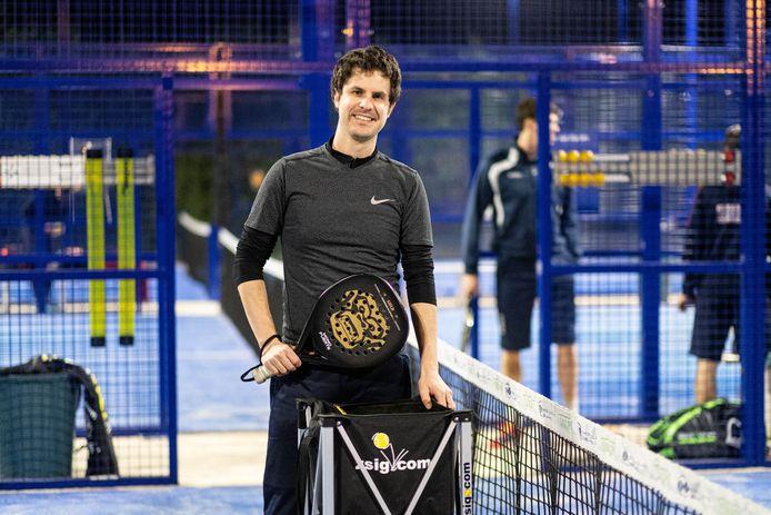Pieter-Jan Vandersloten ziet padel op termijn zelfs populairder worden dan tennis.