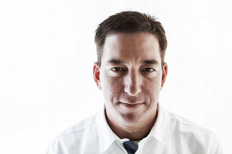 Glenn Greenwald: 'Het huis verlaten is een soort politie-operatie: de beveiliging moet de auto gereedmaken, de omgeving inspecteren. Dus zit ik vooral thuis.' Beeld BELGAIMAGE