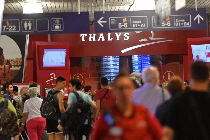 Thalys krikt zijn aanbod op tot 68 procent van het normale aantal treinen.