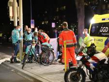Scooterrijder zwaargewond bij aanrijding op Erasmusplein