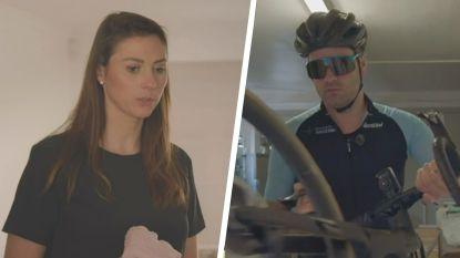 """Vriendin Valeska wil niet dat Niels Albert sinds afgaan defibrillator nog alleen gaat fietsen: """"Een vies gevoel"""""""