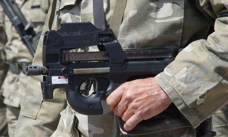 De P90 van FN Herstal. Beeld rv