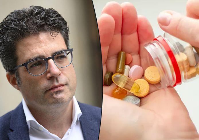 Viroloog Steven Van Gucht ontkracht wilde verhalen over vitaminen en mineralen die zouden beschermen tegen Covid-19.