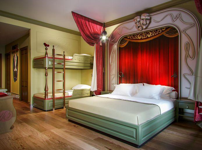 Overnachten in het Plopsa-hotel, dat kan zo.