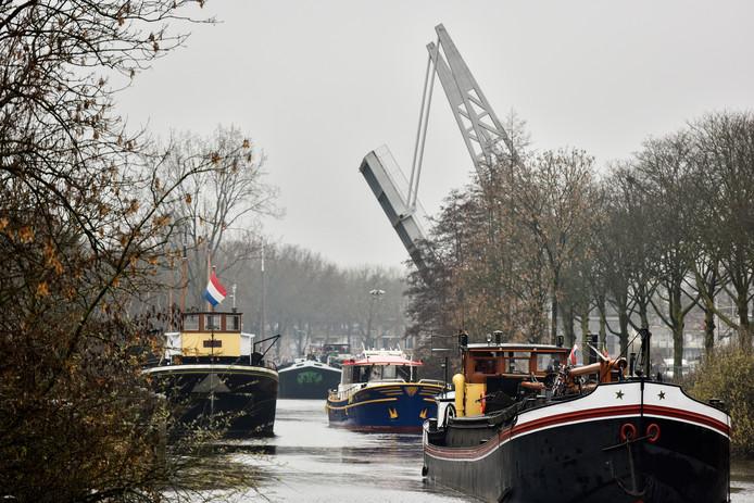 Uittocht der boten. Foto Jeroen de Jong/BeeldWerkt