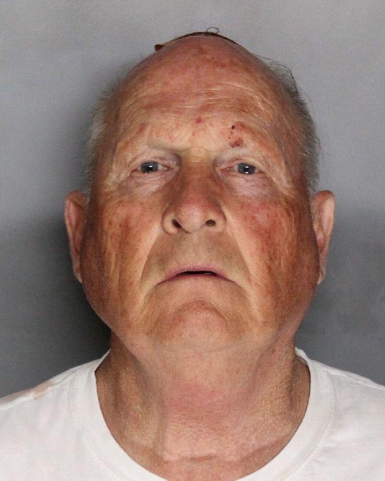 Joseph James DeAngelo werd gisteren gearresteerd. Beeld Sacramento Sheriff