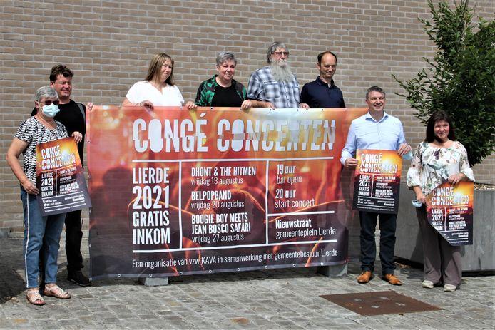 Gemeente Lierde en de VZW kava organiseren in augustus opnieuw Congé Concerten.