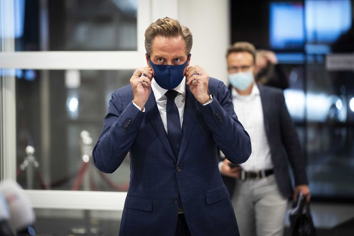 Coronaminister Hugo de Jonge is verantwoordelijk voor de vaccinatiestrategie.