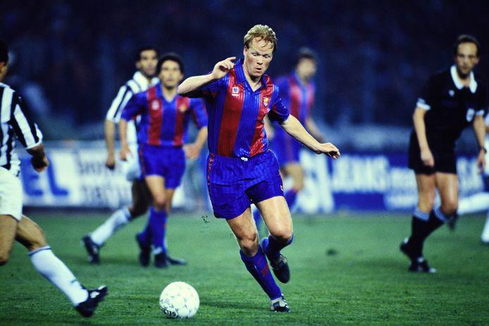 Ronald Koeman speelde vanaf de zomer van 1989 zes jaar voor Barcelona.