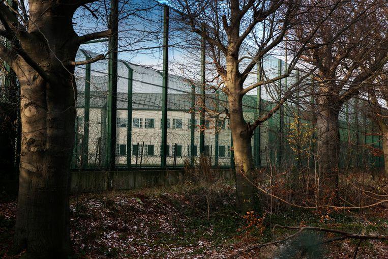 Het gesloten centrum in Vottem. Beeld Tim Dirven