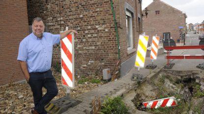 Gat Kerkstraat wordt na drie jaar gedicht