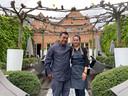 Tom en Palita aan het terras van Laan Thai 2