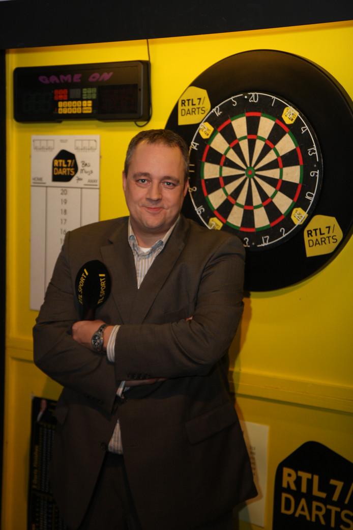 Jacques Nieuwlaat, dartscommentator op de Nederlandse televisie.