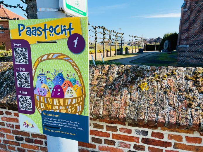 De startplaats van de wandeling in Oud-Turnhout
