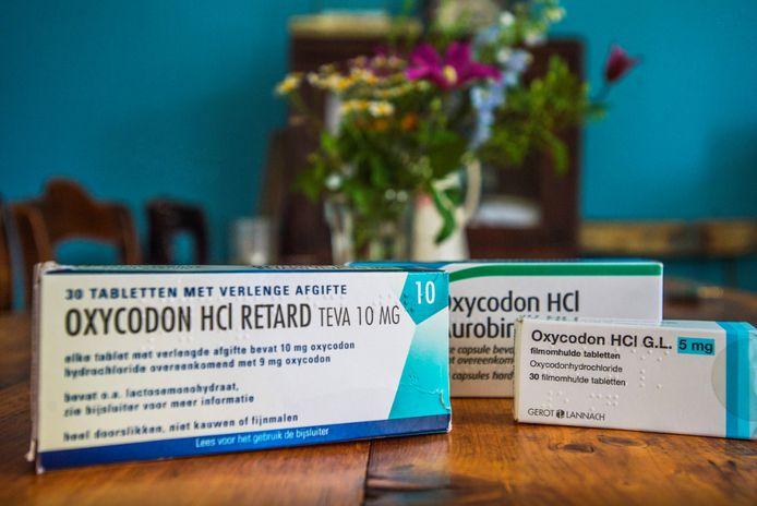De zware pijnstiller oxycodon wordt steeds vaker voorschreven.