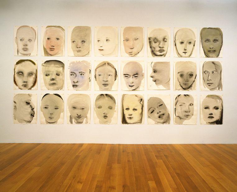 Marlene Dumas -  Chlorosis (Love Sick), 1994. Beeld © 2019. Digital image, The Museum of Modern Art, New York/Scala, Florence