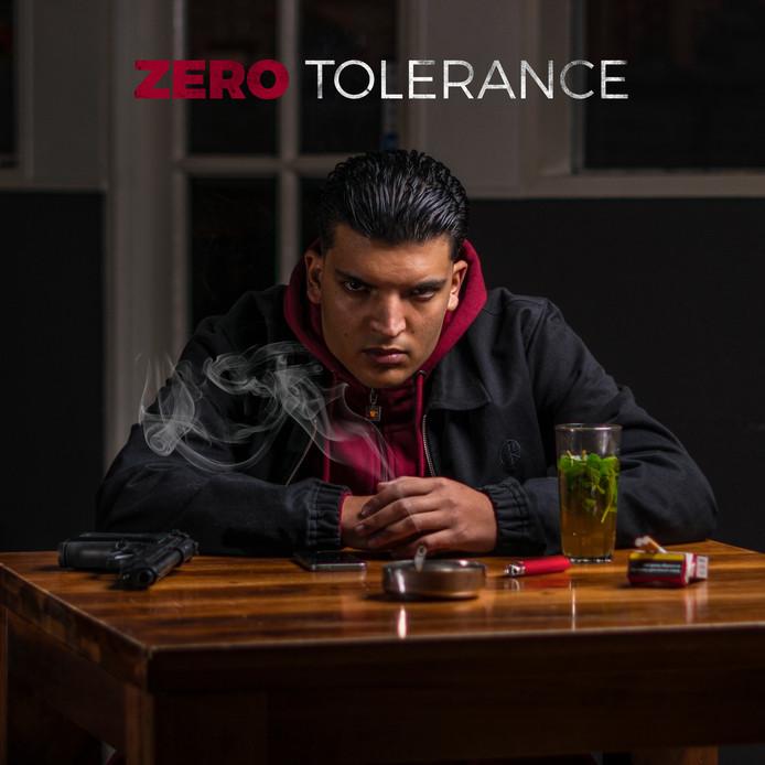 Woenzelaar op de cover van zijn debuut-EP.
