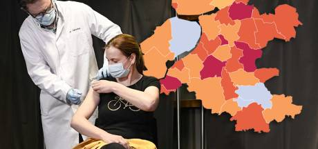 KAART | Aantal coronabesmettingen neemt landelijk af, Oost-Nederland laat wat anders zien