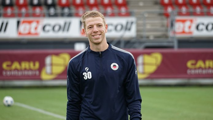 Lars Bleijenberg uit Sluiskil, doelman bij Excelsior Rotterdam