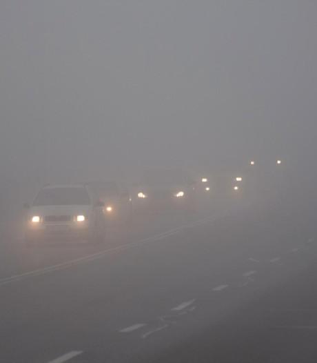 Méfiez-vous des routes glissantes et du brouillard