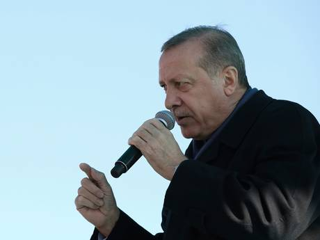 Erdogan wilde GelreDome vol Turkse Nederlanders toespreken