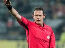 Allard Lindhout fluit duel tussen Go Ahead Eagles en SC Cambuur