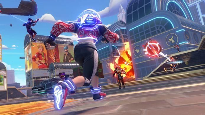 Trefbal werd tot een opzwepende multiplayergame verheven in 'Knockout City'.