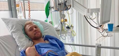Lammertink ruim twee weken na botsing met scooter uit ziekenhuis ontslagen