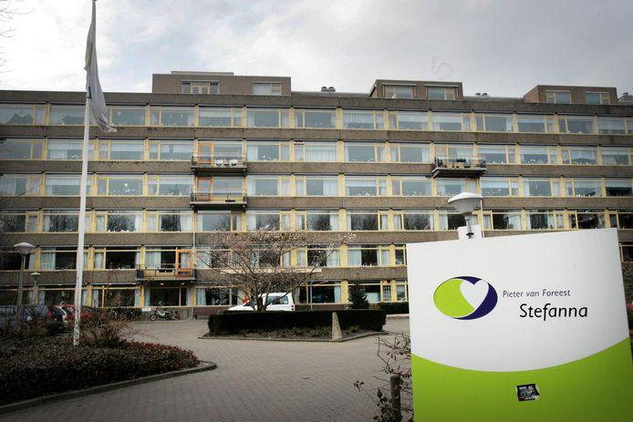 Verzorgingshuis Stefanna aan de Aart van der Leeuwstraat.