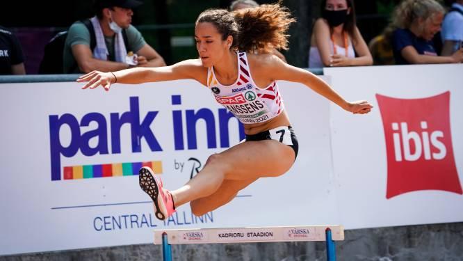 Ilana Hanssens zevende (400m horden) en zesde (4x400m) op EK juniores