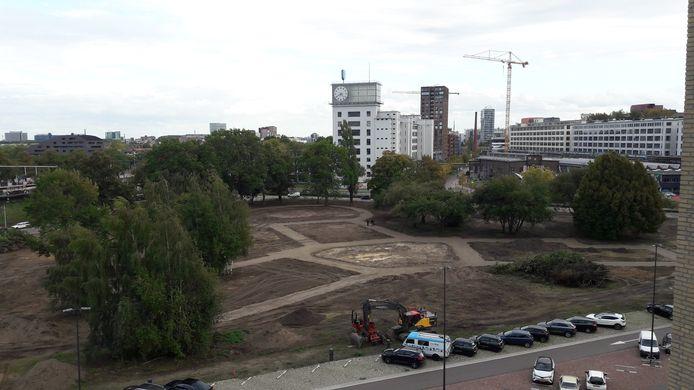 Het Gloeilampplantsoen op Strijp-T in Eindhoven heeft de afgelopen weken een grote onderhoudsbeurt ondergaan.