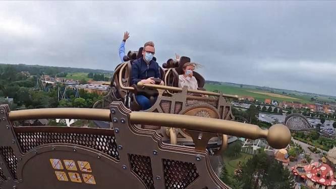 Zo voelt het om op de nieuwe Tomorrowland achtbaan te rijden: eerste videobeelden tonen coaster van 35 meter hoog
