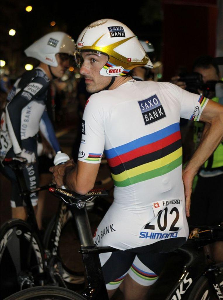 Als het van deze Fabian Cancellara afhangt al zeker niet. Beeld UNKNOWN