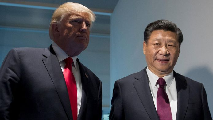 President Trump met zijn Chinese collega Xi Jinping