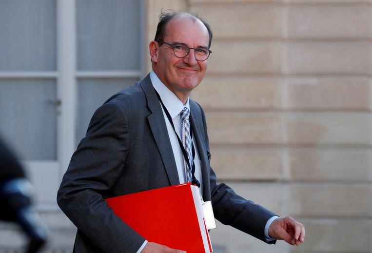 De nieuwe Franse premier Jean Castex. Beeld REUTERS