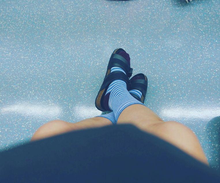 Sokken in sandalen Beeld Getty Images/EyeEm