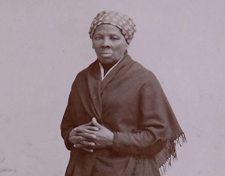 Een foto van Harriet Tubman van rond het jaar 1885. Beeld AFP