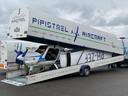 Een elektrisch vliegtuigje van de fabrikant Pipistrel waarmee straks vanaf Teuge wordt gevlogen.