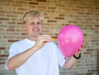 Een ballon doen ontploffen met enkel een appelsien? Influencer Gerben Tuerlinckx toont je hoe het moet