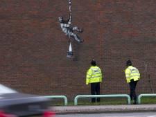 La dernière oeuvre de Banksy apparaît sur le mur d'une prison anglaise