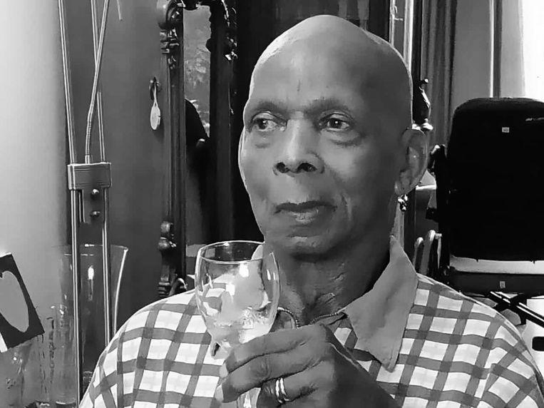 Desiré Holwijn, beter bekend als Pa Bollie, was een van de grote Afro-Surinaamse kwartiermakers in de Bijlmer. Beeld -