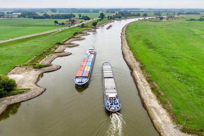 Aan de historisch lage waterstanden in de IJssel lijkt snel een einde te komen.