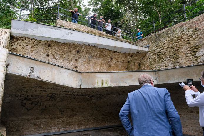 vleermuizenkelder in park Drie Fonteinen