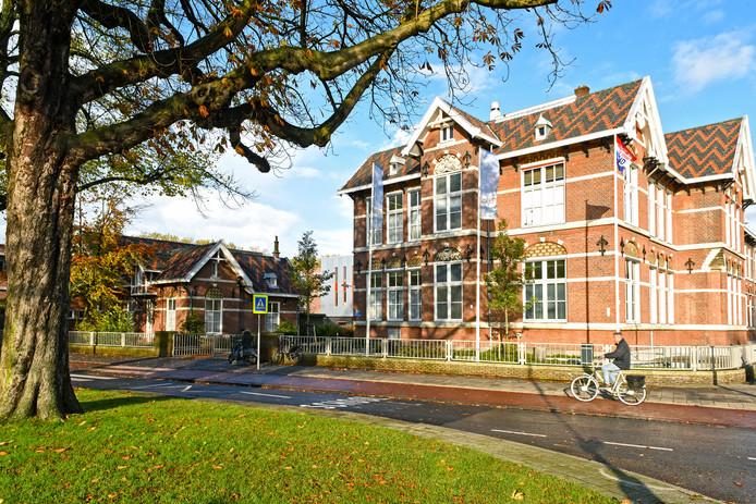 BERGEN OP ZOOM - Pix4Profs/Casper van Aggelen - Het oude gedeelte van het Rijks in Bergen op Zoom gaat op de schop.