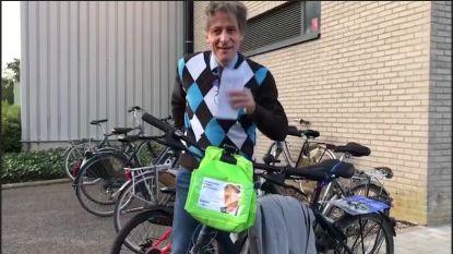 VIDEO: Burgemeester Tielt-Winge gaat stemmen