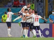 Engeland blaast Oekraïne omver en treft Denemarken op Wembley